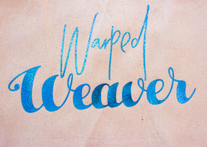 Tote Bag: Warped Weaver
