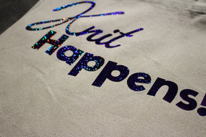 Tote Bag: Knit Happens