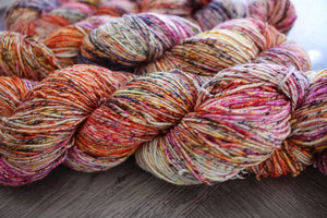 OOAK -- orange mega speckle