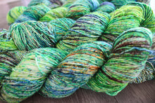 OOAK -- green mega speckle