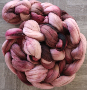 Spin Together Mauvey Plum OOAK