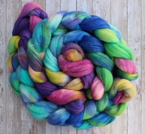 Polwarth/Mulberry Silk/Rose  201219-4
