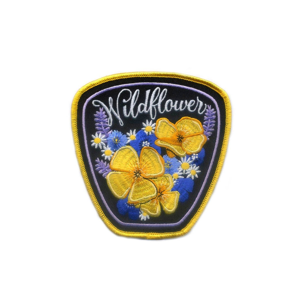 Antiquaria - Wildflower Emboridered Patch (large)