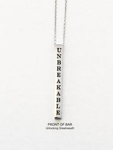 Unlocking Greatness® Unbreakable Necklace +Move Card