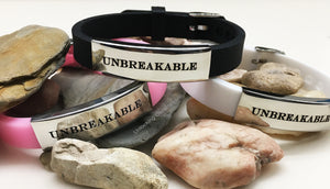 Unlocking Greatness® Unbreakable Bracelet +Run Card