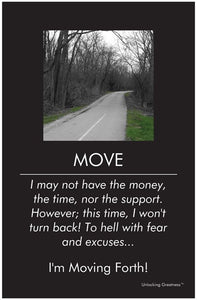 Unlocking Greatness® Inspirational Poster [Move]