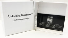 Unlocking Greatness® Unbreakable Necklace +Failure Card