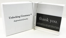Unlocking Greatness® Unbreakable Necklace +Fly Card