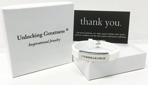 Unlocking Greatness® Unbreakable Bracelet +Move Card