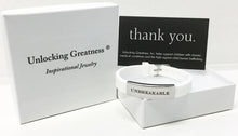 Unlocking Greatness® Unbreakable Bracelet +Dream Card