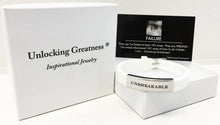 Unlocking Greatness® Unbreakable Bracelet +Failure Card