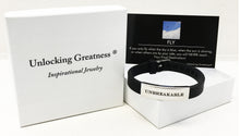 Unlocking Greatness® Unbreakable Bracelet +Fly Card