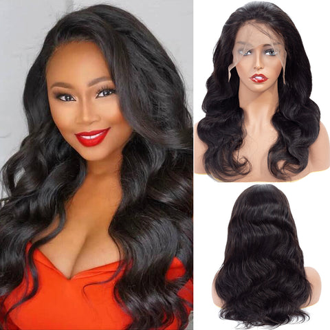 Bestsojoy Body Wave Human Hair Lace Frontal Wigs For Black Women Virgin Hair Full Lace Frontal Wigs