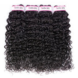 Bestsojoy 10A Brazilian Virgin Hair Water Wave 4 Bundles Brazilian Water Wave Hair Bundles Top Quality Human Hair Extensions