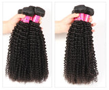 Bestsojoy 10A Peruvian Deep Curly 4 Bundles 100% Peruvian Curly Human Hair Bundles Top Human Hair Extensions