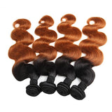 Bestsojoy 1b 30 Ombre Malaysian Body Wave 3 Bundles Ombre Malaysian Hair Wave Bundles