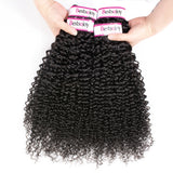 Bestsojoy 10A Malaysian Kinky Curly 4 Bundles Malaysian Kinky Curly Hair Bundles Top Quality Human Hair Extensions