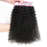 Bestsojoy 10A Malaysian Kinky Curly Hair 3 Bundles 100% Unprocessed Malaysian Curly Human Hair Weave Bundles