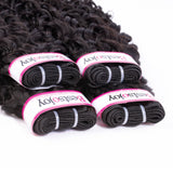 Bestsojoy 10A Brazilian Virgin Hair Water Wave 3 Bundles 100% Unprocessed Brazilian Water Wave Human Hair Weave Bundles