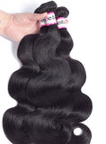 Bestsojoy Brazilian Virgin Hair Body Wave 3 Bundles Unprocessed Brazilian Human Hair Weave Bundles