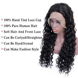 Bestsojoy Peruvian Curly Human Hair Wig Glueless Lace Front Human Hair Wig With Baby Hair Pre Plucked Remy Hair High Density