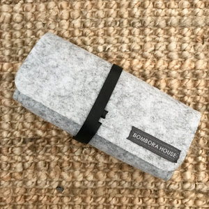 Felt sunglasses case
