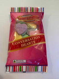 Conversation Lollies (Love Hearts)
