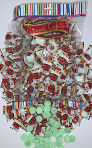 Pittsworth Spearmint Lollies Individually Wrapped