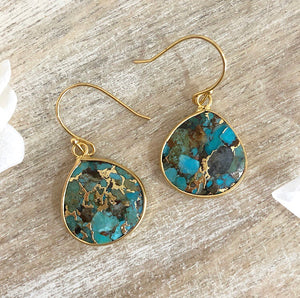 RIVER TURQUOISE EARRINGS