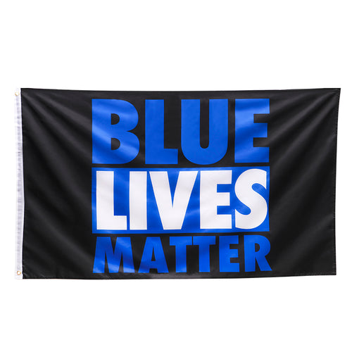 3 by 5 foot Blue Lives Matter Flag