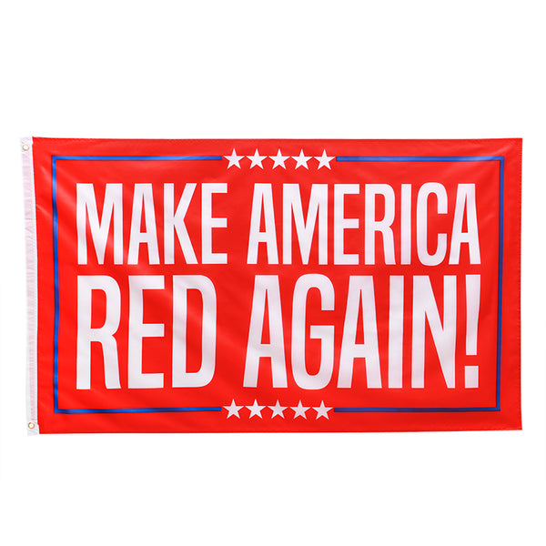 "3 by 5 foot ""Make America Red Again"" Flag"