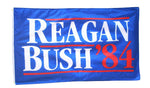 3 by 5 Foot Reagan Bush '84 Flag - The Proud Republican
