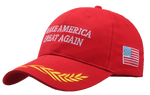 Make America Great Again Hat with Gold Branch - The Proud Republican