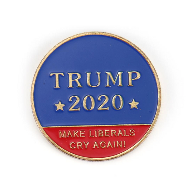 "President Trump ""Make Liberals Cry Again"" Coin - The Proud Republican"
