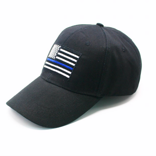Blue Line Flag Hat