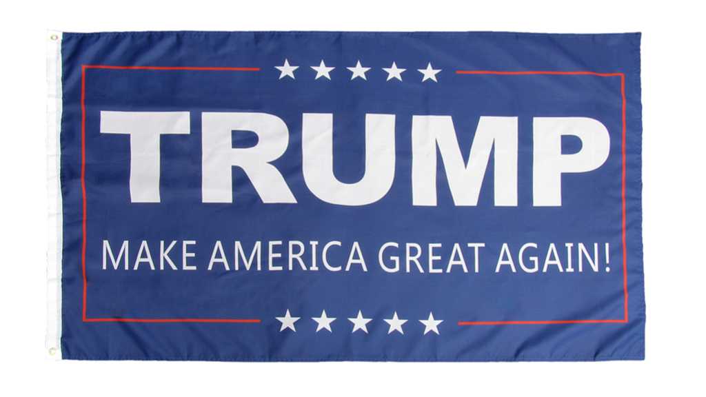 "3 by 5 foot ""Make America Great Again"" Flag - The Proud Republican"