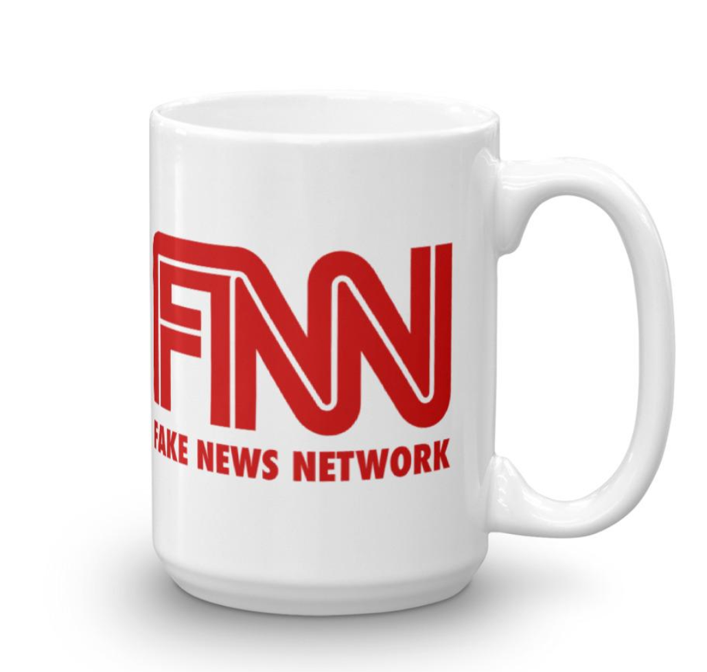 Fake News Network Mug - The Proud Republican