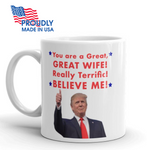 "Donald Trump Valentine's Day ""Wife"" Mug - The Proud Republican"