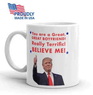 "Donald Trump Valentine's Day ""Boyfriend"" Mug - The Proud Republican"