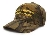 Make America Great Again Hat - Forrest Camouflage