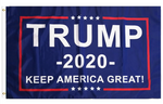 "3 by 5 foot Trump ""Keep America Great"" Flag - The Proud Republican"