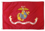 3 by 5 Foot United States Marine Corps Flag - The Proud Republican