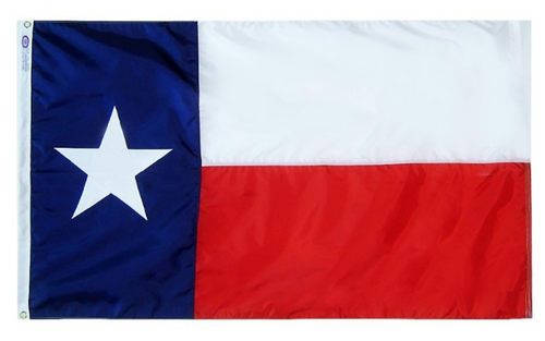 3 by 5 Foot Texas Flag - The Proud Republican