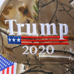 Trump 2020 Camouflage Hat - The Proud Republican