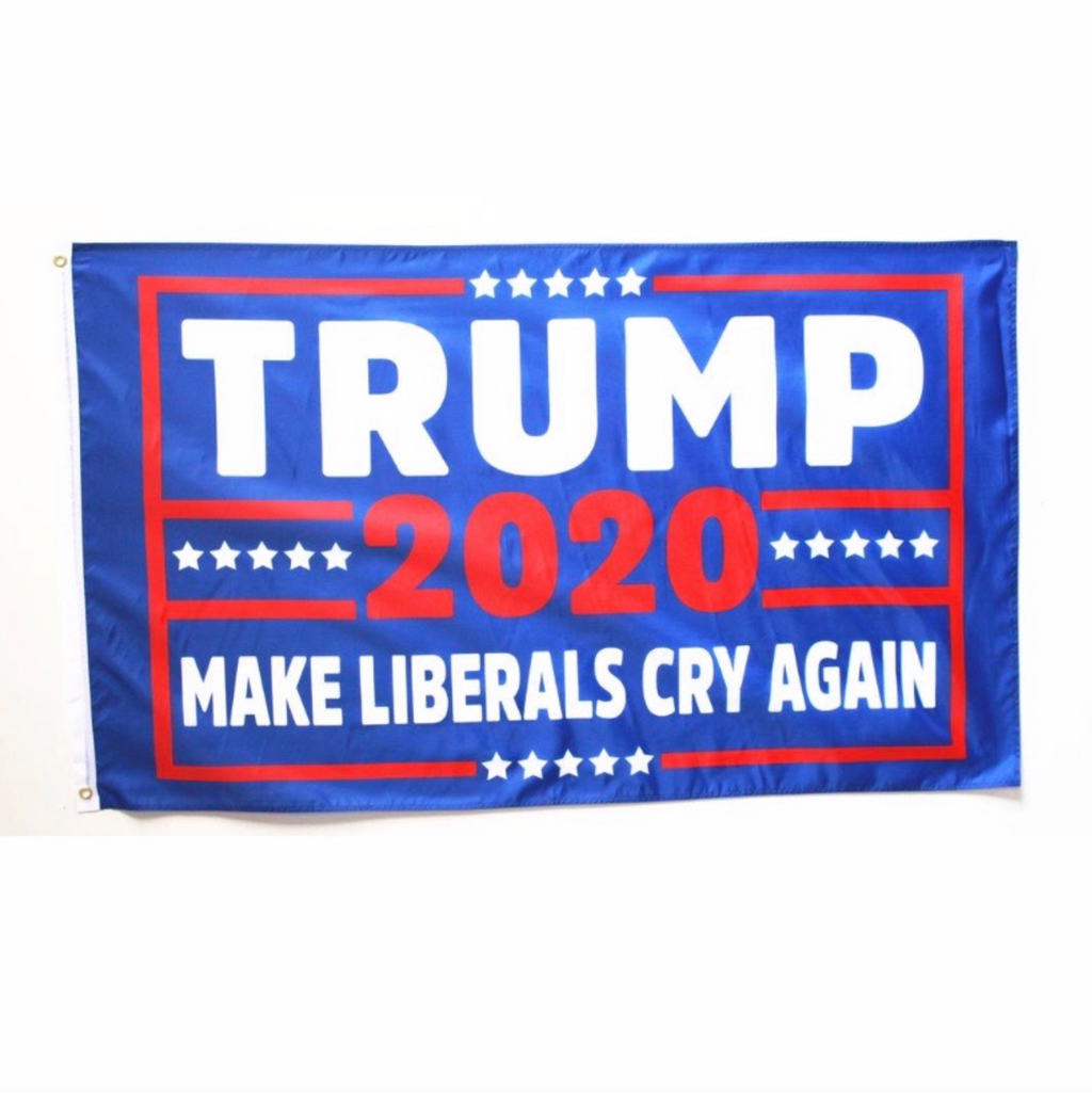 "3 by 5 foot Trump ""Make Liberals Cry Again"" Flag - The Proud Republican"