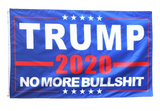 "3 by 5 Foot Trump 2020 ""No More Bullshit"" Flag - The Proud Republican"