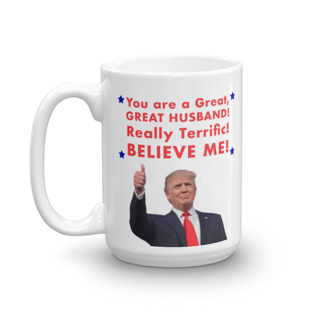 "Donald Trump Valentine's Day ""Husband"" Mug - The Proud Republican"