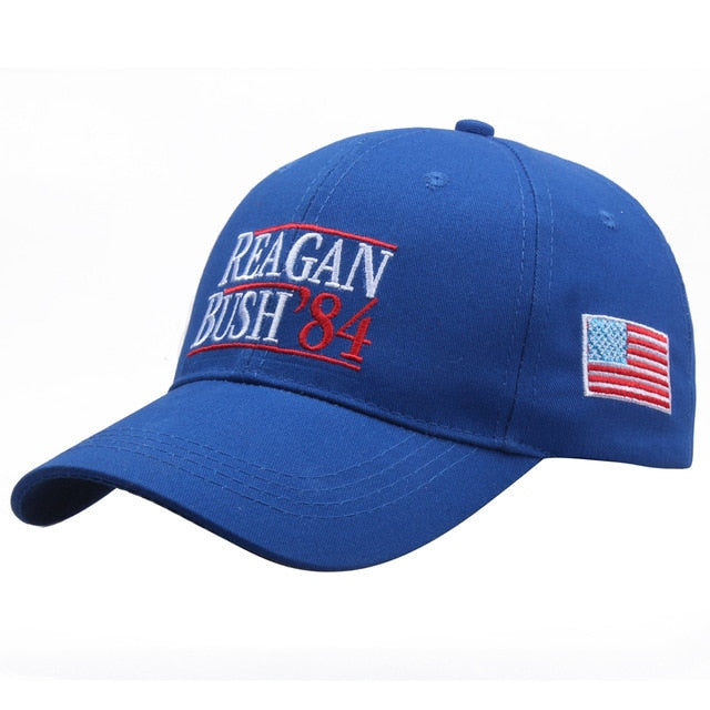 Reagan Bush '84 Hat - The Proud Republican