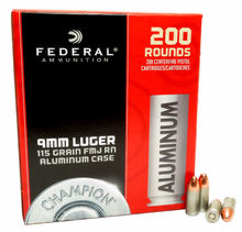 Federal Champion Aluminum 115gr 9mm