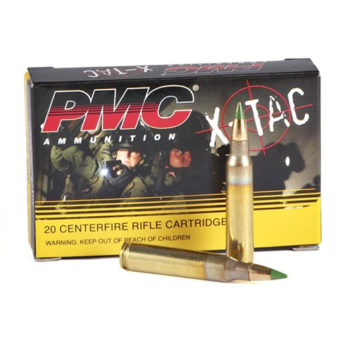 PMC 5.56x45 62 gr Green Tip